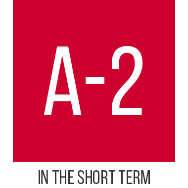 A-2 in the short term
